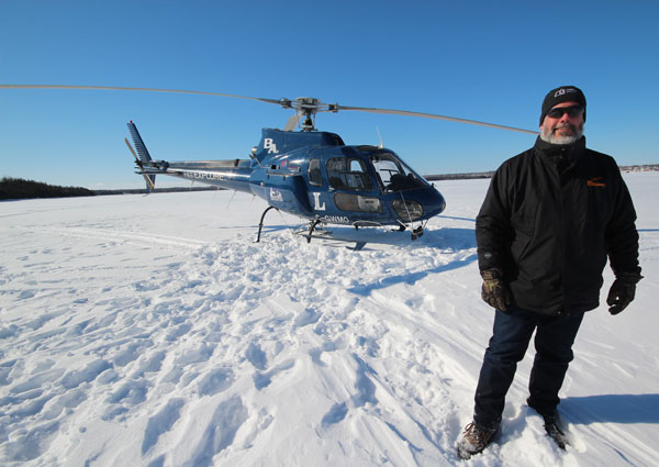 David Lauzon, Co-Founder and Chief Pilot of Heli Explore Inc. provided his services to enable our camera man to shoot some incredible aerial footage of the event.
