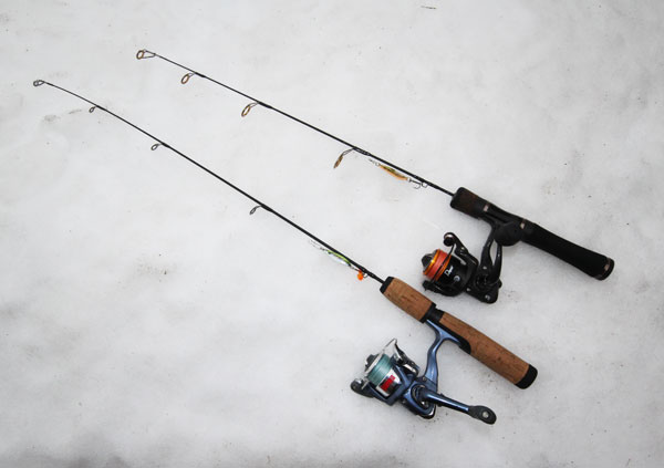 Rapala makes an excellent selection of spinning and baitcasting ice fishing combos that meet all anglers needs.