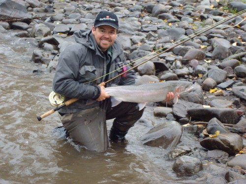 Steelhead season in BC is arriving shortly and catches like this will be common.