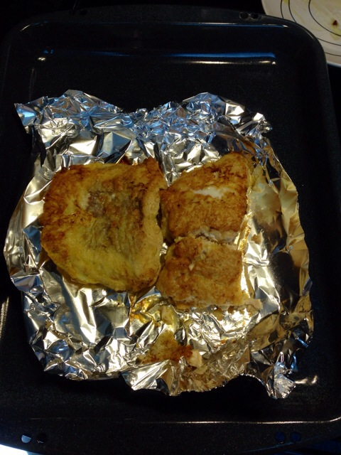 Baked salmon....tastes great!!