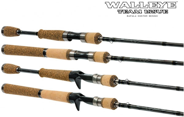 The Rapala Walleye Team rods have been developed with the help of Canadian walleye anglers.  Different models and actions meet every Canadian walleye anglers needs!