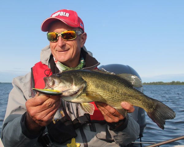 "I have told anglers planning to head down to the Bay of Quinte anytime from Spring to Fall that they only need to take one lure, and that's the Rapala Tail Dancer 39 in the ""hot-chub"" color....It catches everything!!"