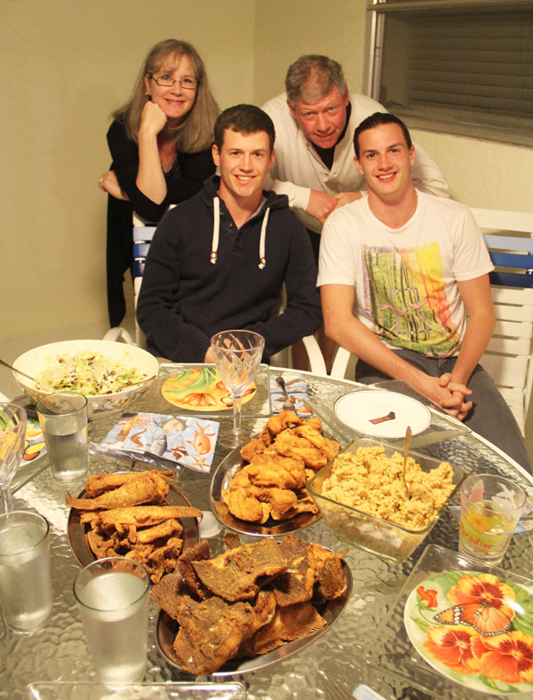 murrayfamily_fishfeast