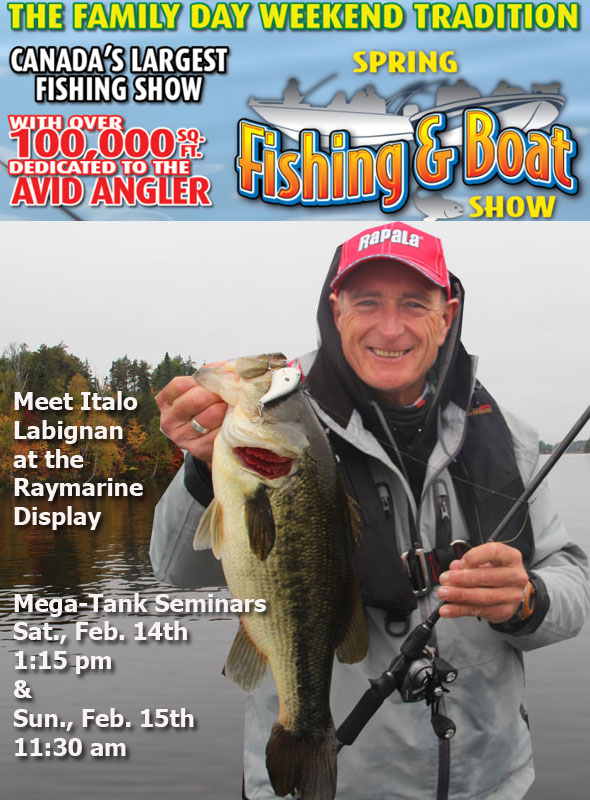 Meet Italo at the Raymarine Booth, find out about the most accurate fish finders on the market and get a signed poster! Make sure to also attend his seminars at the Mega-Tank..