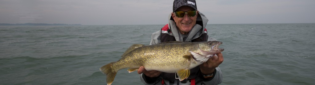 Cold-water Walleye action.