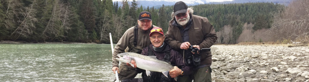 """YES-TV Canadian Sportfishing Show, 7am, Sat. Sept. 21, 2019 """"BC River Salmon & Steelhead Action."""", YES-TV."""