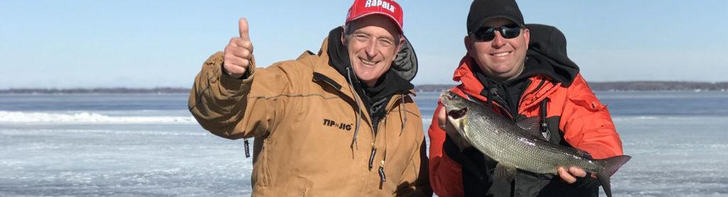 """YES-TV Canadian Sportfishing Show, 7am, June 19, 2021″Icefishing Whitefish Action."""", YES-TV."""