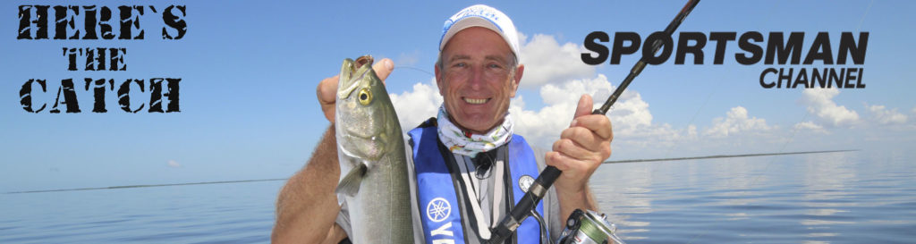 """NEW Here's the Catch! TV Series Exclusive PREMIERE, """"Florida Bluefish Action."""", 7pm, Thurs, Oct.22, 2020, Sportsman Channel Canada."""