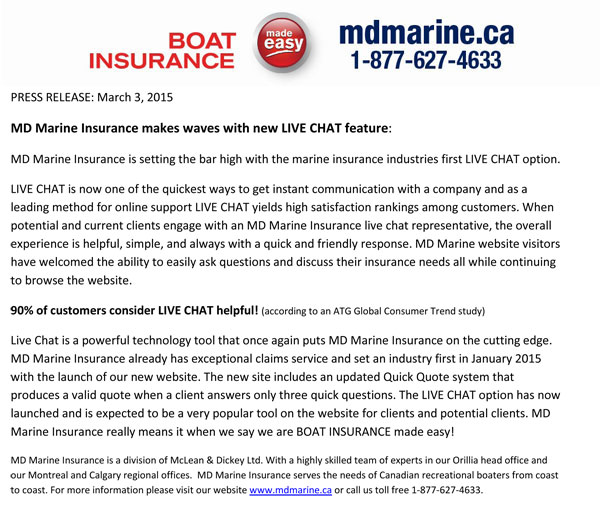 MD-Marine-Live-Chat---Press-Release-March-3,-2015