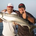 Italo video, Lake Ontario Salmon & Trout trolling video.