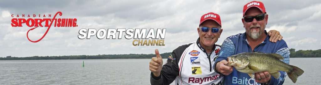 "NEW Canadian Sportfishing Series 34 Exclusive PRIEMERE, ""Crankin' Bass & Walleye."", 4am, Mon., July 13, 2020, Sportsman Channel Canada."