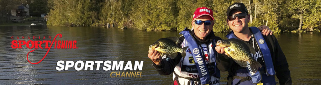 """NEW Canadian Sportfishing Series 34 Exclusive PRIEMERE, """"Ultralight Crappie Action."""" 6:30pm, Fri., Oct. 23, 2020, Sportsman Channel Canada."""