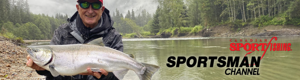 """NEW Canadian Sportfishing Series 35 Exclusive PRIEMERE, """"BC Salmon Action."""" 6:00pm, Mon., Sept.27, 2021, Sportsman Channel Canada"""