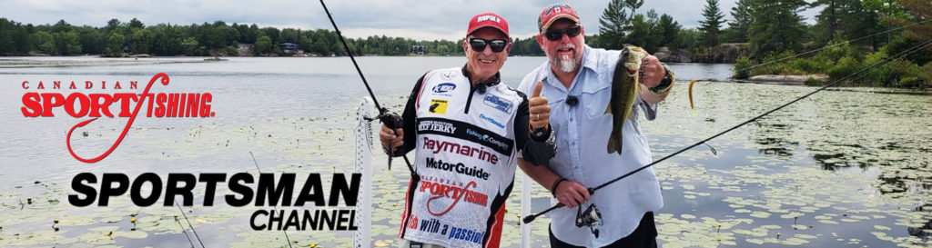 """NEW Canadian Sportfishing Series 35 Exclusive PRIEMERE, """"Lily pad Largemouth Bass Action."""" 6:00pm, Mon., July 26, 2021, Sportsman Channel Canada"""