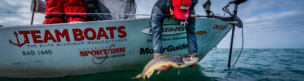 Great Lakes Trout Action.