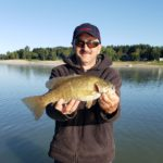 Ontario reservoir Bass are turning on.