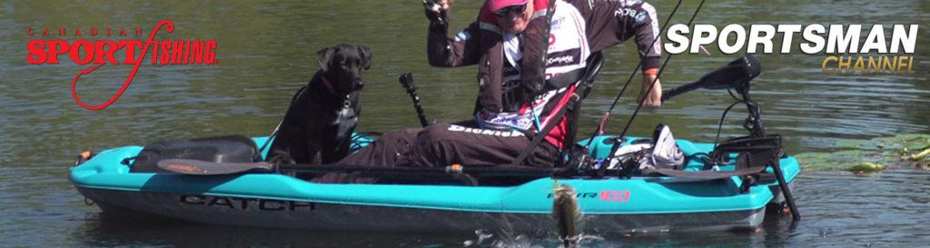 "NEW Canadian Sportfishing Series 34 Exclusive PRIEMERE, ""Kayak Fishing Strategies."", 4am, Mon., Feb.24, 2020, Sportsman Channel Canada."