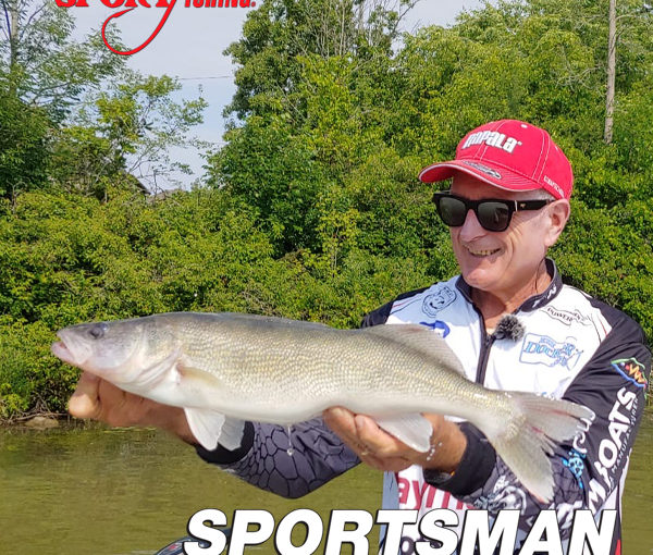 "Canadian Sportfishing Series exclusive ""Crankin' River Walleye."" on Sportsman Channel Canada Jan.18, 2021."