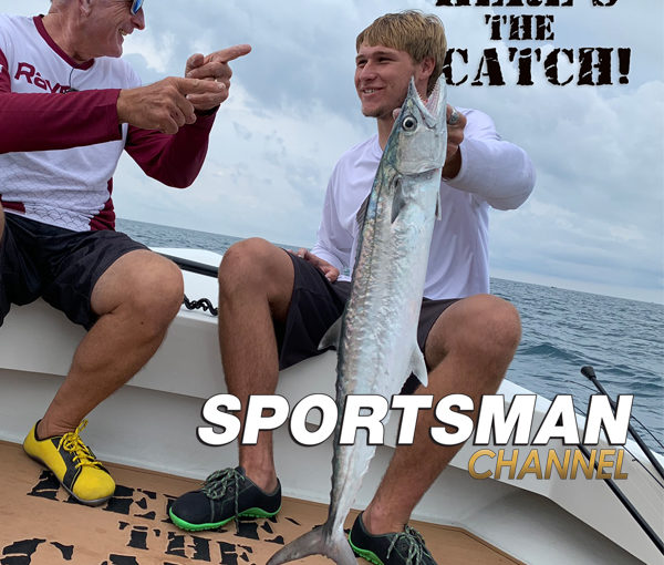 "Italo Labignan – Here's the Catch! TV series NEW ""Kingfish Saltwater Action."" on the Sportsman Channel Canada, Jan.18, 2021."