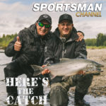 """Italo Labignan – Here's the Catch! TV series """"BC Coho Salmon action."""" on the Sportsman Channel Canada, June 21, 2021."""