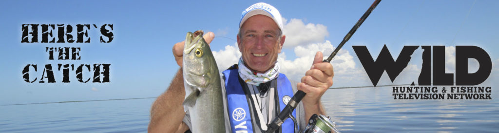 """Here's the Catch!"""" Series on WILD TV, """"Saltwater Bluefish Action."""" 6:30am, Tues., July 20, 2021."""