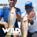 """""""Here's the Catch!"""" Series """"Florida Yellowtail Adventure."""" on WILD TV July 27, 2021.  Wed. 4am, Fri. 6:30am, Sat 10:30am & – Mon. 4pm"""